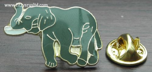 Elephant Enamel Lapel / Hat / Tie Pin Badge Animal Lovers Gift Souvenir Brooch